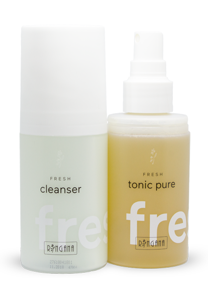 Ringana cleanser & tonic pure